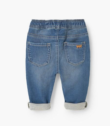 Mango Baby Comfy-fit jeans