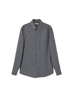 Slim-fit prince of wales shirt