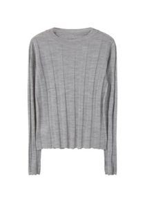 Mango Ribbed Wool-Blend Sweater