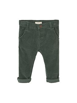 Baby Corduroy slim-fit trousers