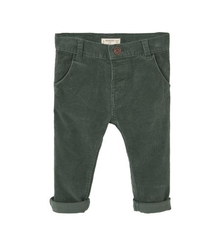 Mango Baby Corduroy slim-fit trousers