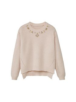 Girls Bead sweater