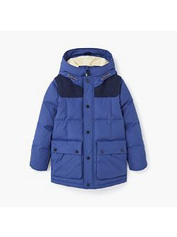 Boys Hood quilted coat