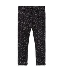 Mango Girls Printed baggy trousers