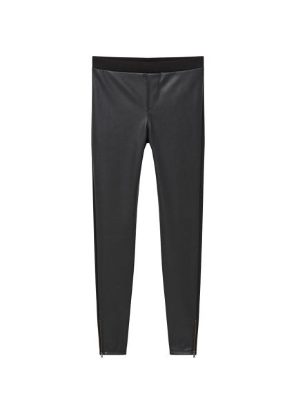 Mango Panel contrast leggings