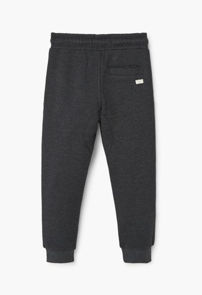 Mango Boys Textured cotton trousers