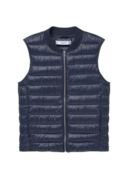Mango Quilted gilet