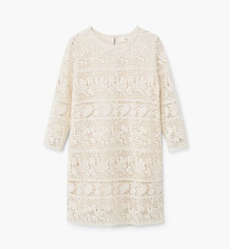 Mango Girls Crochet cotton dress