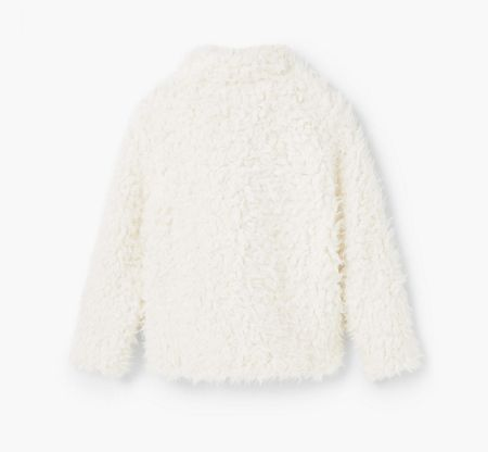 Mango Girls Faux Fur Coat