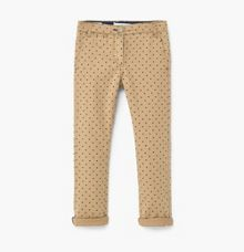 Mango Girls Spotty Trousers