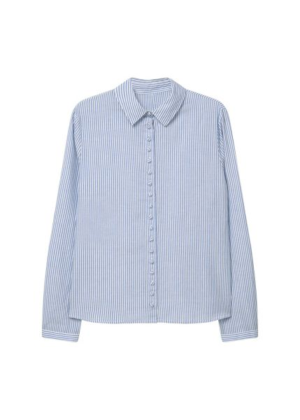Mango Striped cotton shirt