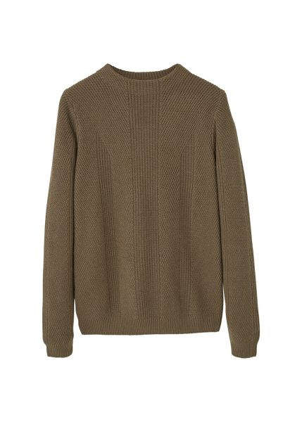 Mango Wool-blend knit sweater