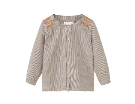Mango Baby Embroidered Shirt