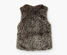 Mango Girls Faux-Fur Gilet