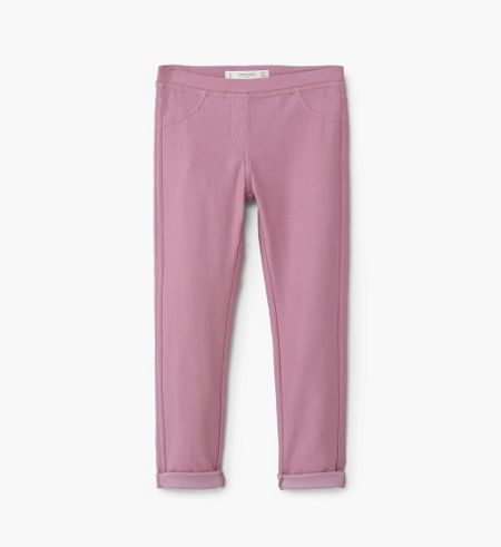 Mango Girls Essential cotton leggings