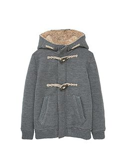 Boys Faux shearling jacket