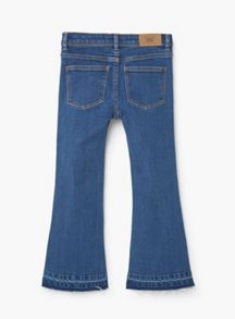 Mango Girls Flared Jeans