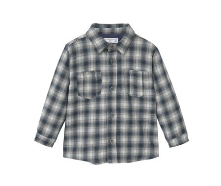 Mango Baby Checked Shirt