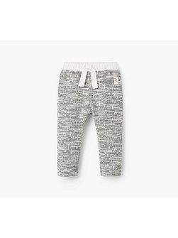 Baby Flecked trousers