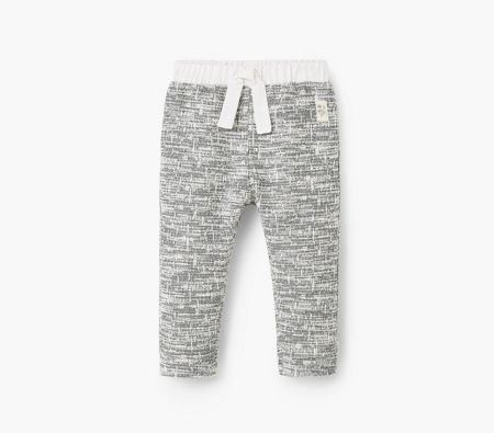 Mango Baby Flecked trousers