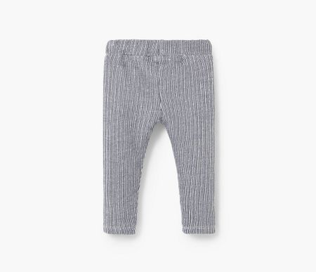 Mango Baby Textured Trousers