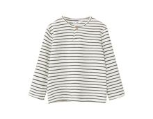 Mango Striped cotton t-shirt