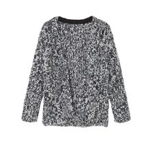 Mango Girls Flecked wool-blend cardigan