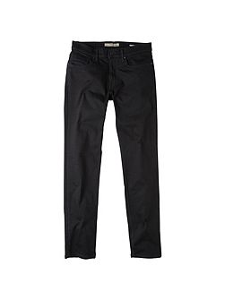 Slim-fit black Jan jeans