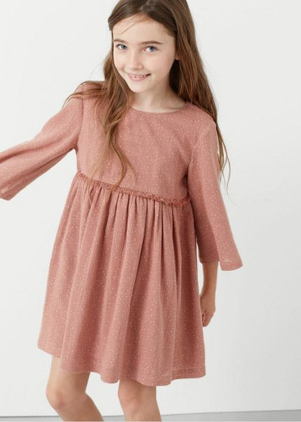 Mango Girls Printed cotton dress