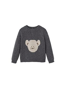 Baby Cotton wool-blend sweater
