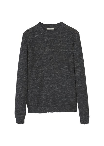 Mango Flecked linen wool-blend sweater