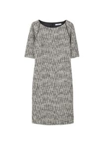 Mango Flecked jersey dress