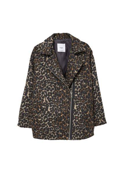 Mango Animal pattern jacket
