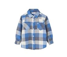 Mango Baby Checked cotton shirt