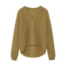 Mango Girls Flecked fine-knit cardigan
