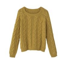 Mango Girls Cable-knit cotton sweater