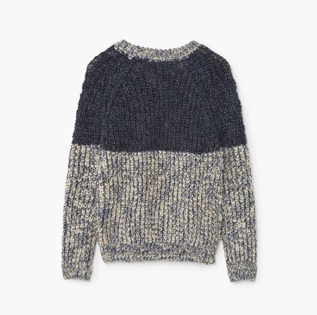 Mango Boys Two-Tone cotton Jumper