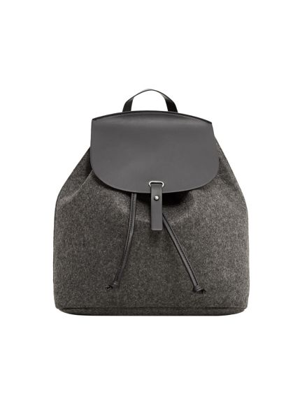 Mango Contrasting Backpack