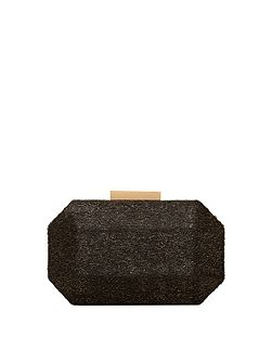 Faux Fur Textured Clutch