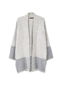 Mango Textured cotton cardigan