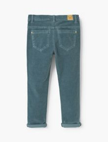 Mango Girls Corduroy slim-fit trousers