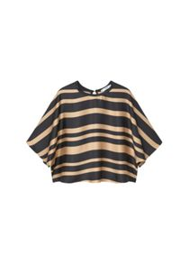Mango Oversize striped blouse