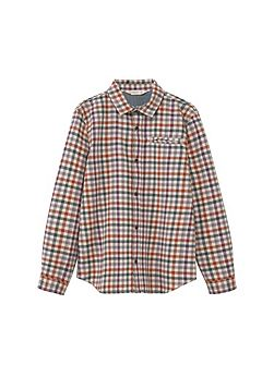 Boys Checked Flannel Shirt