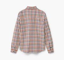 Mango Boys Checked Flannel Shirt