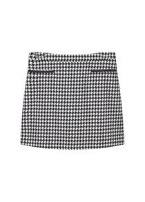 Mango Houndstooth skirt