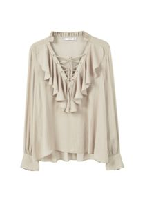 Mango Ruffled blouse