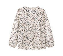 Mango Girls Printed flowy shirt