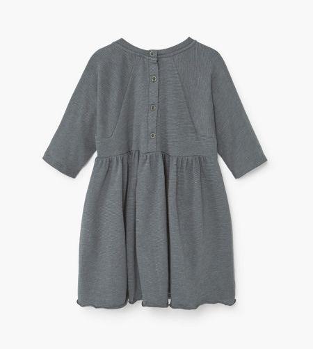 Mango Girls Striped Cotton Dress