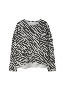 Mango Printed cotton sweatshirt