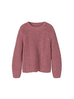 Girls Cotton wool-blend sweater